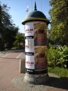 Plakatowanie Katowice